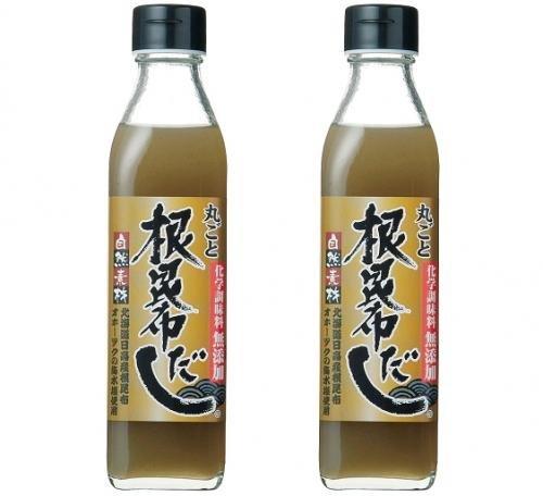 丸ごと昆布だし 300ml×2本(北海道ケンソ)北海道昆布使用・化学調味料無添加 ふるさと21