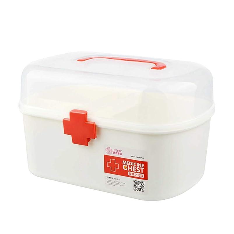 手順クラウド売り手Xianheng1 救急箱 応急処置 薬箱 救急ボックス 薬 くすり 収納 収納ボックス 大容量 収納箱 救急 応急手当 薬入れ 小物入れ 多機能 家庭用