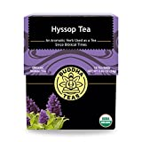 Buddha Teas Organic Hyssop Tea | 18 Bleach-Free Tea Bags | Aromatic | Anti-Inflammatory |...