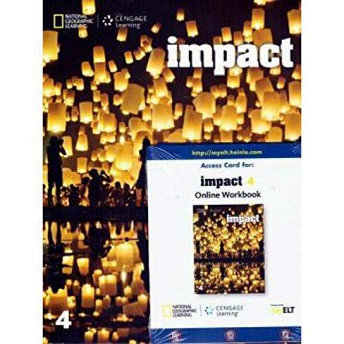 Impact American 4 - Student S Book With Online Workbook
