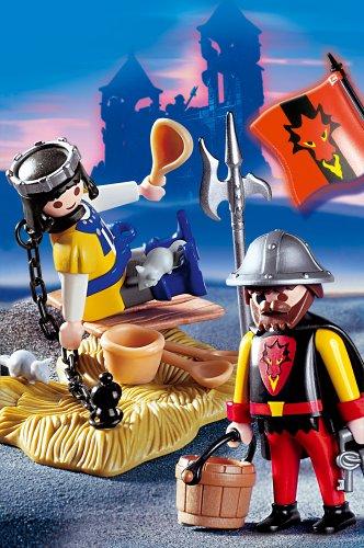 PLAYMOBIL® 3328 - Gefangener Prinz mit Wachposten