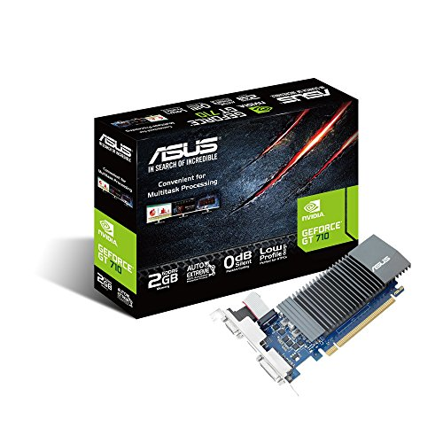 ASUS GeForce GT710 2GB GDDR5 64-Bit 0db Low Profile Graphics Card