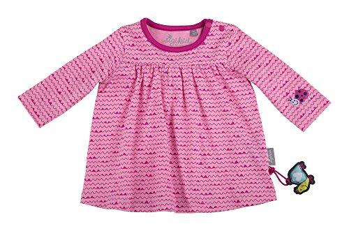 Sigikid Mädchen Langarm Shirt, Baby Langarmshirt, Rosa (Begonia Pink 669), 74