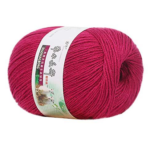 Hilo de punto de lana 100 % alpaca para bebé de Bascar, suave y cálido y sin arañazos, preciosos colores para apuntar tejer y ganchillo, mezcla de petróleo