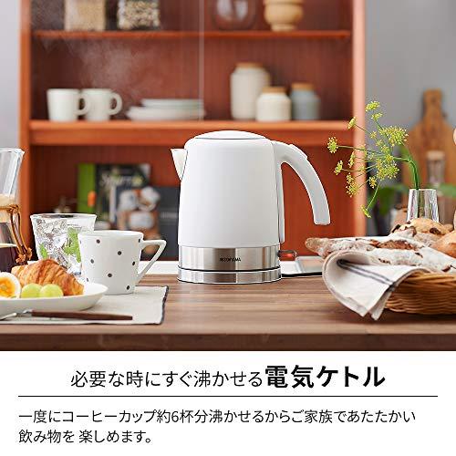 【3点セット買い】アイリスオーヤマ 全国対応オーブンレンジ18L + IH炊飯器 + 電気ケトル1L ホワイト