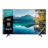 Hisense 50' 4K UHD, Smart TV, Roku TV, HDR10, 50R6000GM (2020)