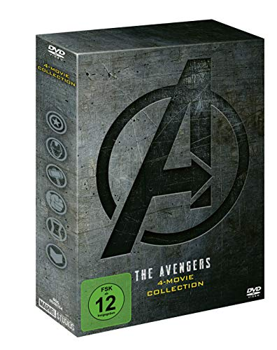 The Avengers 4-Movie DVD Collection
