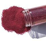 FAIRY TAIL & GLITZER FEE Sabbia Decorativa 800 g, Bordeaux, Rosso, Sabbia, Sabbia, Granula...