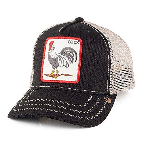 Gorra Trucker Cock de Goorin Bros. - Negro - Adjustable