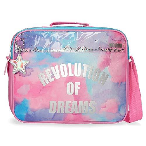 Movom Revolution Dreams Cartera Escolar Multicolor 38x28x6 cms Poliéster