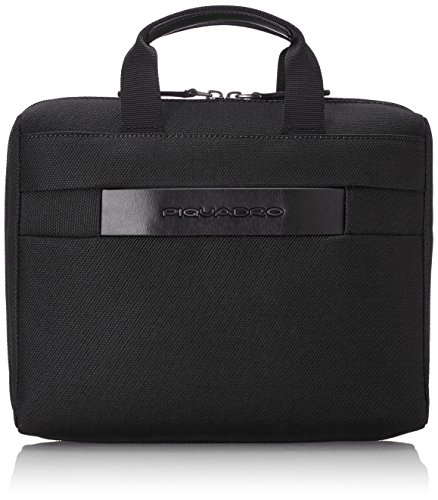 Piquadro Move 2 Beauty Case da Viaggio, Sintetico, Nero, 26 cm