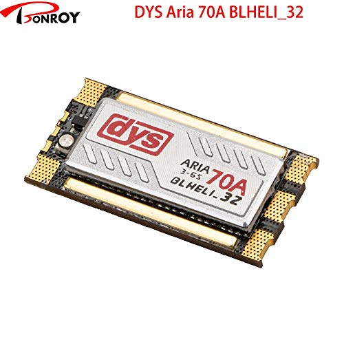 Buy Part & Accessories DYS BLheli_32 Aria70A mini 70A Dshot150/300/600/1200 500HZ PWM/Oneshot125/One...