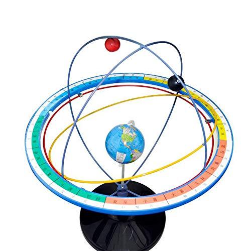 BIUYYY Wissenschafts-Geografie-Bildungs-Ausrüstung - Sun Vision Motion Demonstrator-Klassenzimmer-Labor Versorgungsmaterial-Kinder-Pädagogisches Geschenk