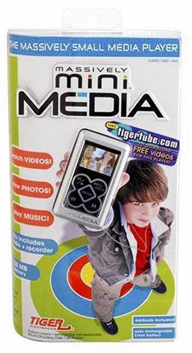 Hasbro Silver - Massively Mini Media Music & Video Player