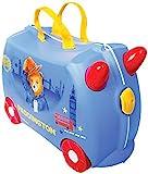 Trunki Valise Enfant à Roulette à Chevaucher et Bagage Cabine - Personnage: L'Ours...