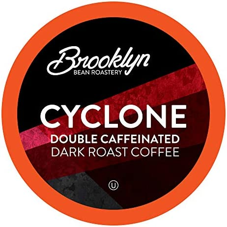 Brooklyn Beans Cyclone Gourmet Coffee Pods Compatible with 2 0 Keurig K Cup Brewers 40 Count product image