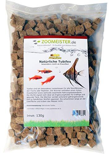 Zoomeister - Premium Tubifex Würfel - gefriergetrocknet - 130g