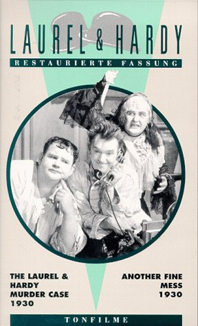 Laurel & Hardy - The Laurel and Hardy Murder Case / Another Fine Mess [VHS]