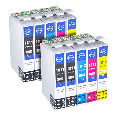 Hehua 18XL Compatible Cartuchos de Tinta para Epson 18 18XL Reemplazo para Epson...
