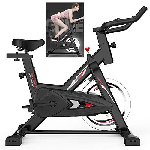 WOAIM Bicicleta Estatica Bicicleta de Ciclismo Interior Fitness Equipo de Entrenamiento Los manillares Ajustables Entrenamiento para el hogar musle Bici del Deporte de 150 kg Capacidad de Peso