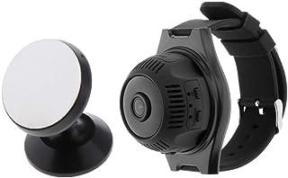 Homyl X7 Mini Camera HD 1080p Small Micro Video Recorder Watch Wifi IP Cam - White, 45x45mm