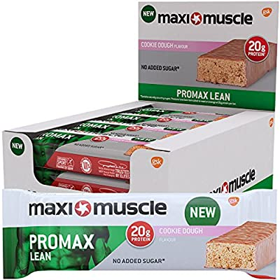 Maximuscle 60 g Promax High Protein Bar - Pack of 12 from Maximuscle