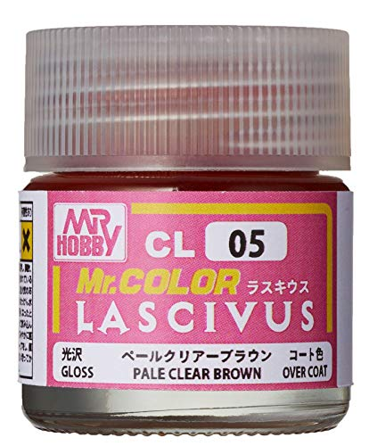 GSIクレオス Mr.カラー LASCIVUS (ラスキウス) クリアーペールブラウン 10ml <光沢></noscript> 模型用塗料 CL05″ /></div><p class=
