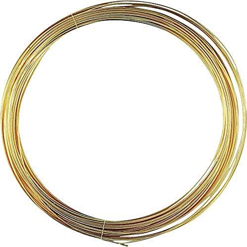 KnorrPrandell Gütermann 6460046 - Filo Metallico 0,4mm, Placcato Oro