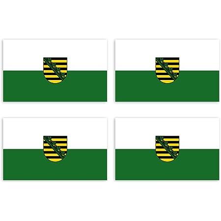 Kiwistar Aufkleber 4 5 X 3 Cm Schleswig Holstein Bundesland Autoaufkleber Deutschland Flagge Länder Wappen Fahne Sticker Kennzeichen Auto