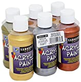 Product Image of the Sargent Art Metallic Acrylic Paint Set, 6-Pack