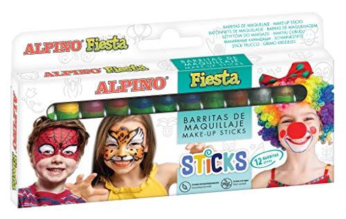 Alpino DL000012 - Estuche 12 unidades maquillaj
