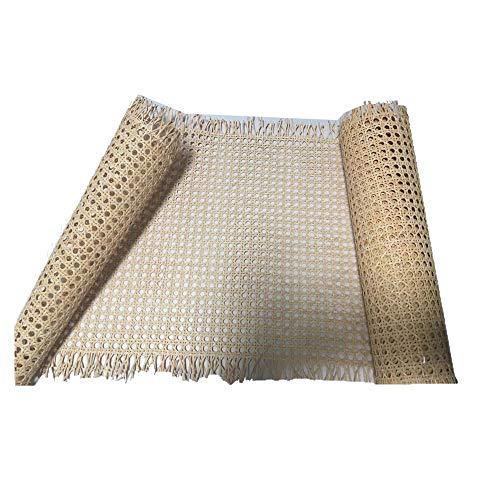 Restauraciones Vintage Rejilla Mimbre para reparación de sillas Calidad A, la máxima Calidad y resitencia en Rejilla Vegetal (46 x 100 cm)