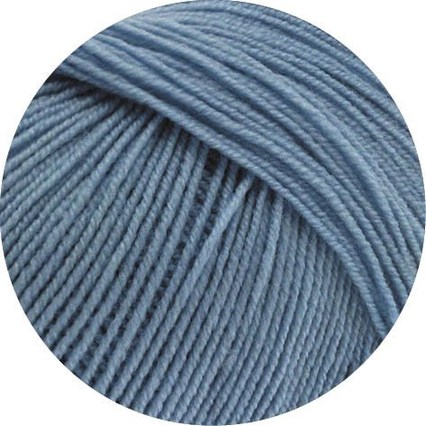 COOL WOOL BABY 263 - Taubenblau