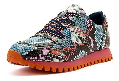 Katy Perry Women's The Lilia Sneaker, BLUE MULTI, 5