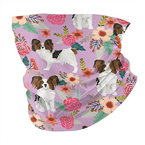Papillon Pasamontañas bufanda de cara variada, pañuelo para el cuello