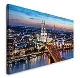 Paul Sinus Art GmbH Köln Skyline 120x 50cm Panorama