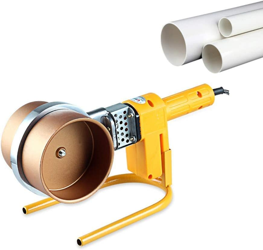 110V, 260℃ Constant Temperature JIAWANSHUN Digital Pipe Fusion Welder Socket Fusion Welding Machine PPR PE HDPE Plastic Tube Welding Kit 1000W