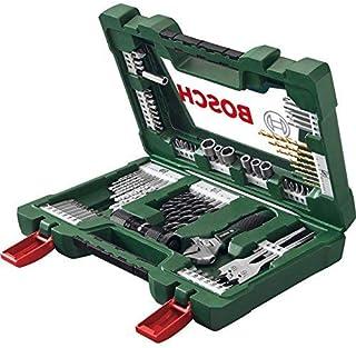 Bosch 2607017309 83-Piece V-line Titanium Set for Drilling - Grey