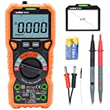 Ruoshui Digital Multimeter TRMS 6000 Counts Voltmeter Auto-Ranging Ohmmeter Accurately Measures Voltage Current