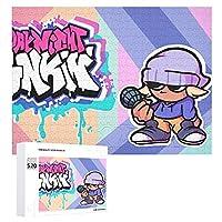 金曜の夜のファンキン 520ピースのジグソーパズル,大人と子供向けの教育エンターテインメントゲーム,家族の装飾パズル