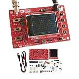 Oscilloscope Kit, KKmoon 2.4' TFT Handheld Pocket-size Digital Oscilloscope Kit DIY Parts Electronic Learning Set 1Msps