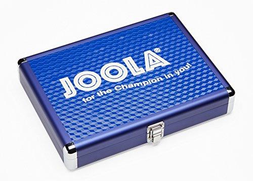 JOOLA T-opbergkoffer aluminium koffer, blauw, één maat