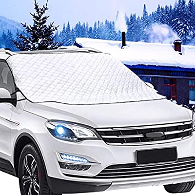 ifory Car Windshield Snow Cover, Universal Fit ...