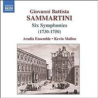 Sammartini: Six Symphonies J-C 4, 9, 16, 23, 36 & 62