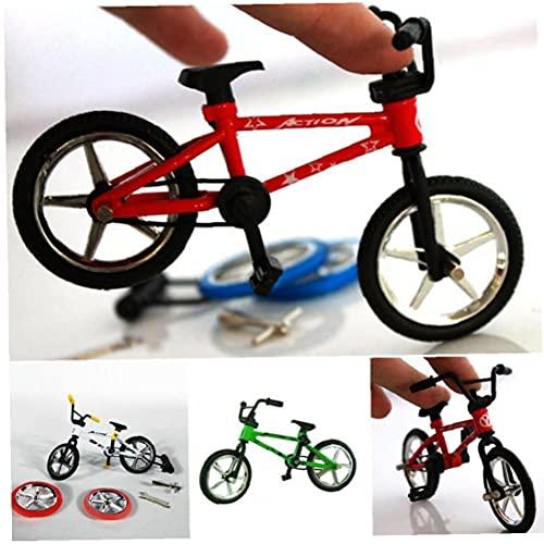 Eccellente qualità Toy Ley Finger Functional Kids Finger Bike Mini-Finger-BMX Set Bike Fans Giocattolo Giocattolo 12.5 * * 4.5 cm Rosso