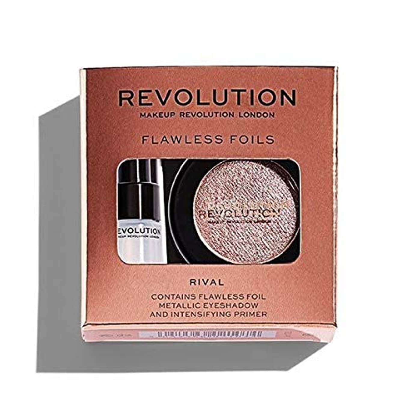 キャプションサロンぴったり[Revolution ] ライバル革命完璧な箔 - Revolution Flawless Foils Rival [並行輸入品]