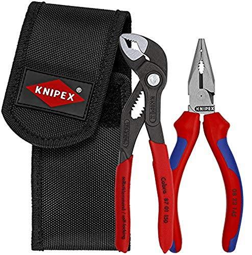 KNIPEX Juego de alicates mini en portaherramientas para el cinturón 2 piezas 00 20 72 V06
