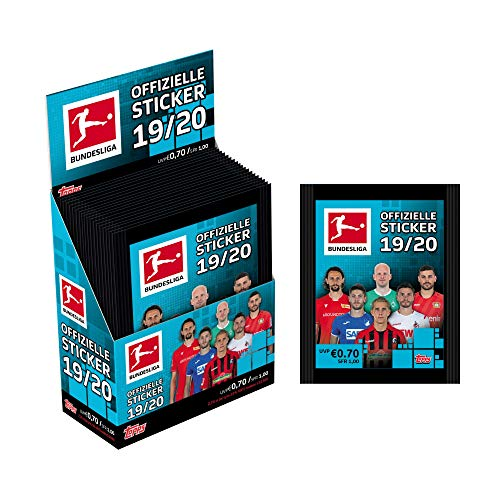 Bundesliga Sticker 2019/20 1 x Display 36 Tüten