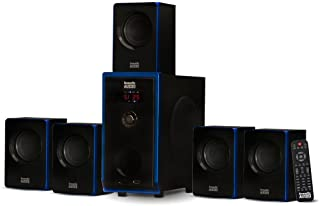 Acoustic Audio AA5102 800W 5.1 Channel Home Theater Surround Sound Bocina System