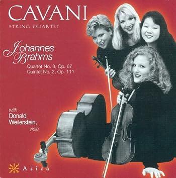 Brahms, J.: String Quartet No. 3 / String Quintet No. 2